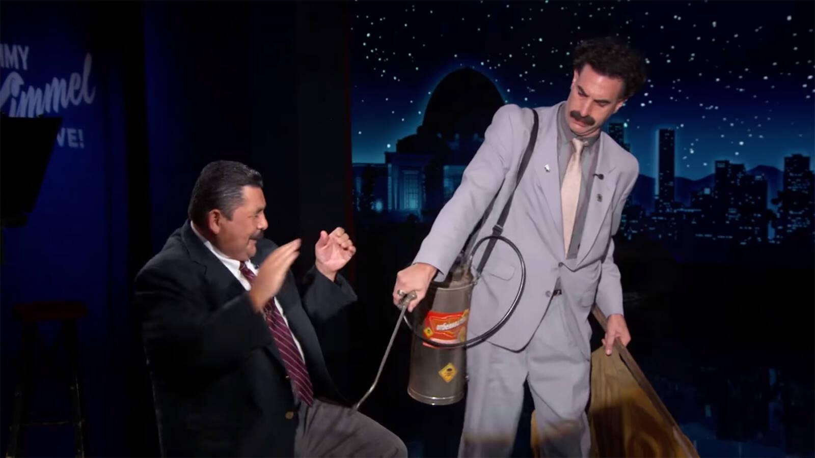 Borat szerint a zsidók terjesztik a koronavírust