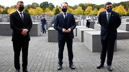 Szokatlan látogatás a berlini holokauszt-emlékműnél