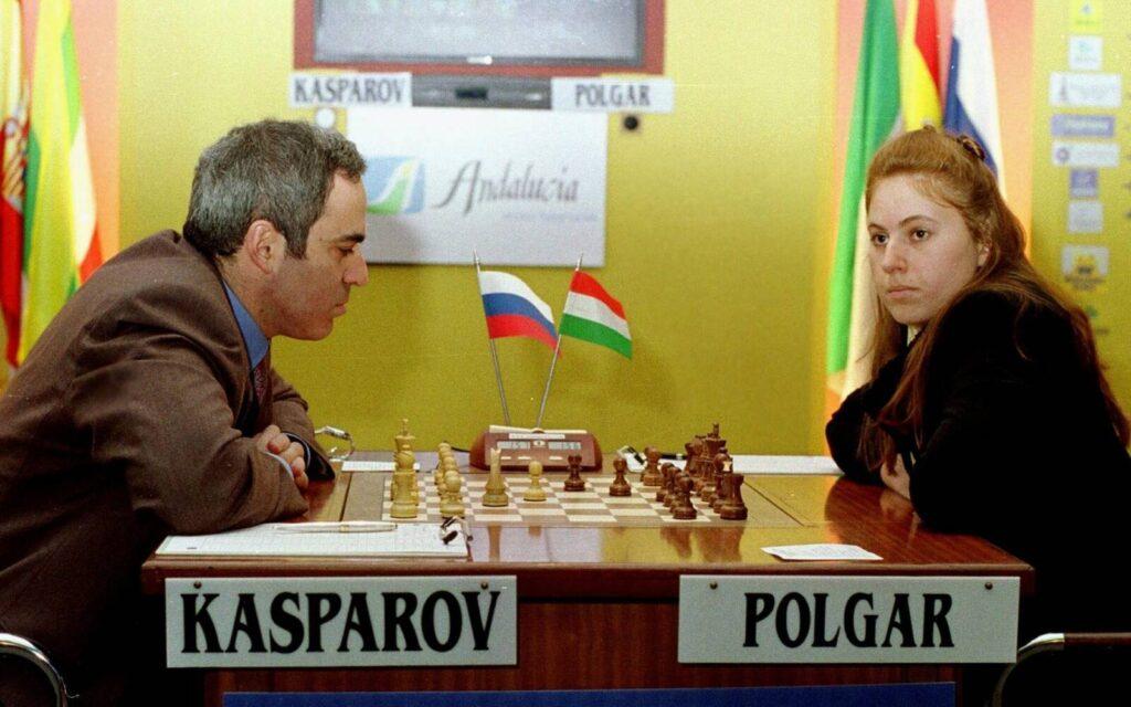 Kaszparov lenyűgözőnek találta Polgár Judit agresszív játékát