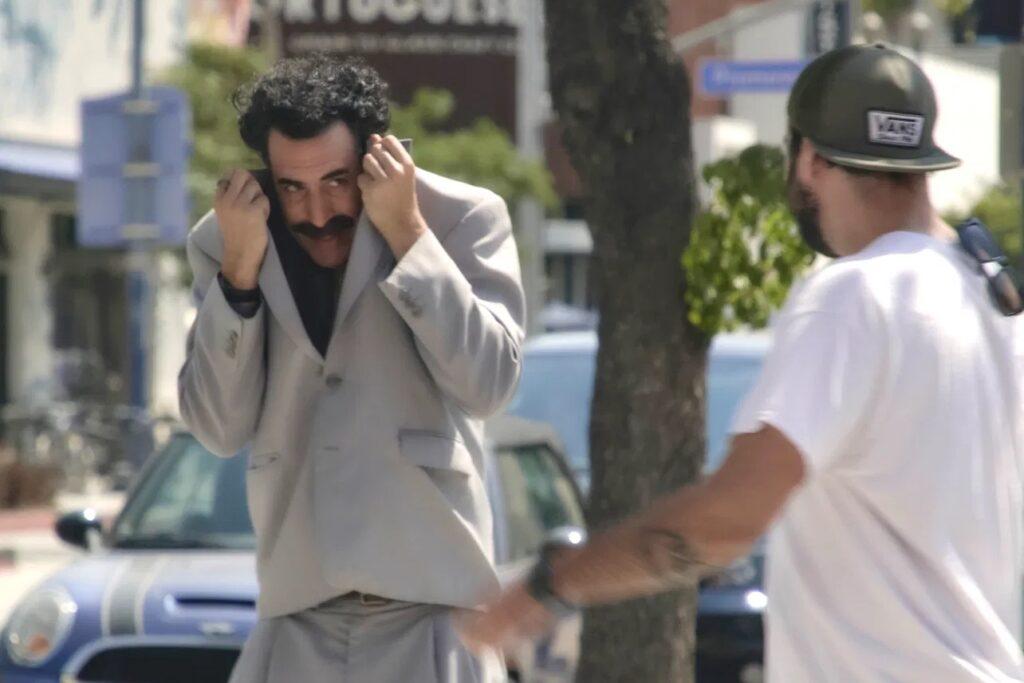 Egy amerikai kazah szervezet kizáratná a Borat 2-t a filmes díjakból