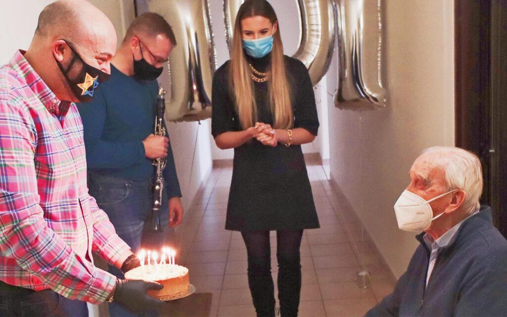 49 országból kapott születésnapi üdvözletet a 101 éves lengyel zsidómentő