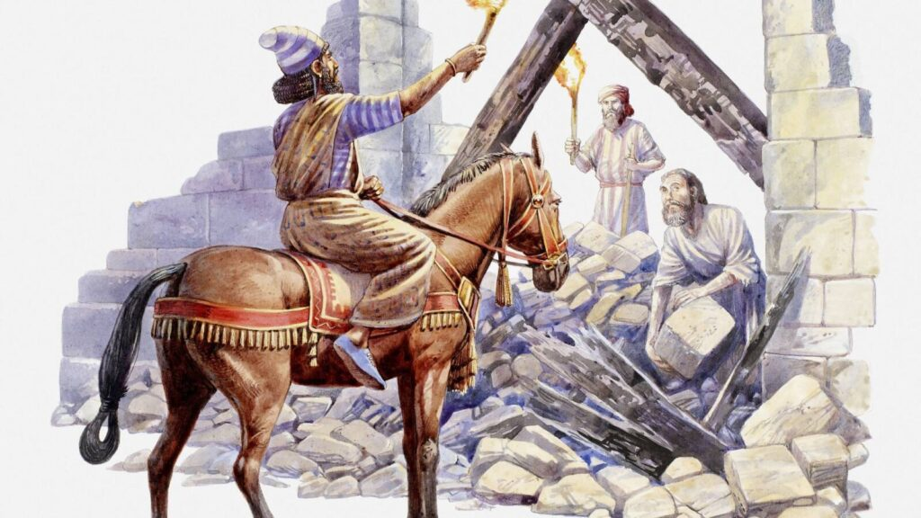 Így építették újjá Jeruzsálemet 2500 évvel ezelőtt