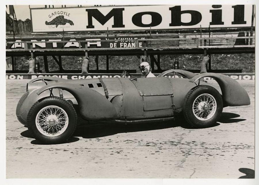 Hitlert felbőszítette a németek sztárját legyőző zsidó autóversenyző