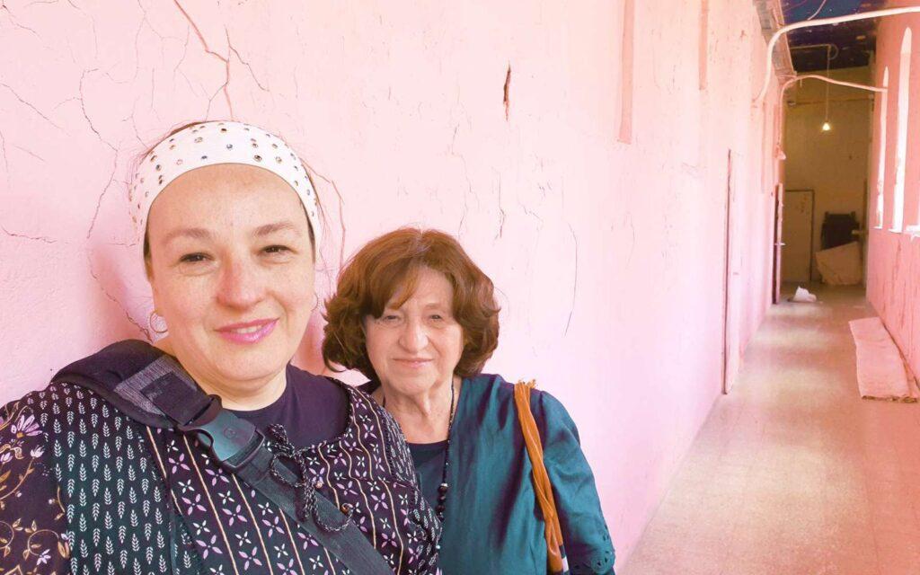 Élő beszélgetés Angela Orosz Richttel, a Born in Auschwitz című film főszereplőjével