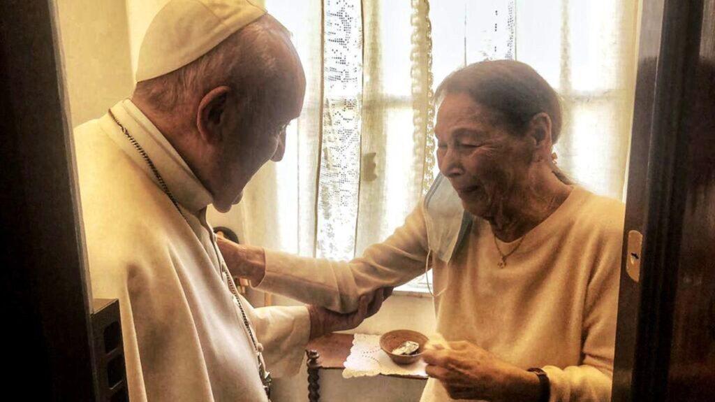 Magyar holokauszt-túlélőnek mondott köszönetet Ferenc pápa