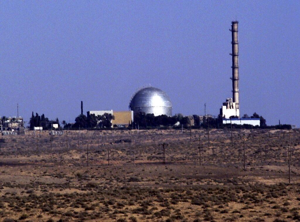 Focipálya-méretű építkezés zajlik Dimónában, Izrael atomreaktoránál