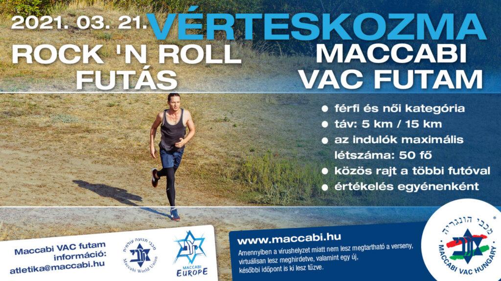 Vérteskozmai Rock'N Roll futóverseny a Maccabi VAC szervezésében