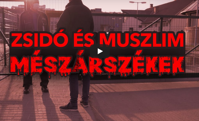 Anitszemita uszítás a szélsőjobboldali Torockai kóservágásról szóló videója
