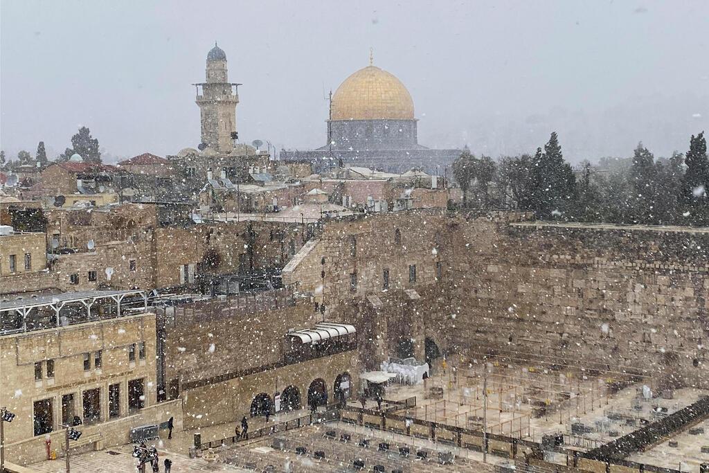Telibe kapta Izraelt a hóvihar