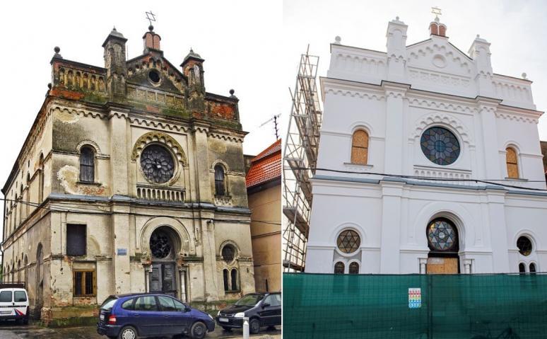Megújult az évtizedek óta romos szenci zsinagóga