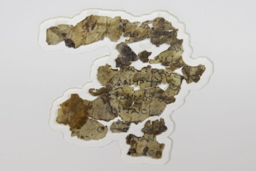 A horror barlangjából kerültek elő a bibliai szöveget tartalmazó ókori tekercsek