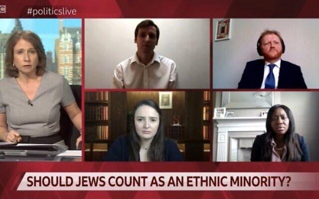 A BBC megkérdőjelezte egy műsorában, hogy a zsidók kisebbségnek számítanak