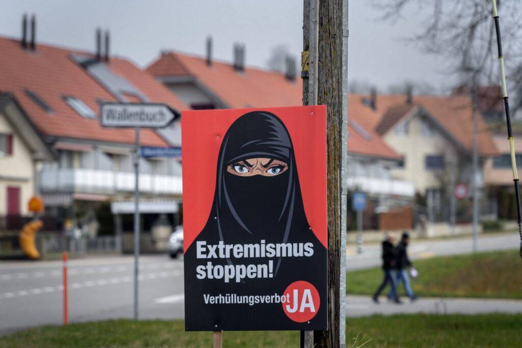 Tiltakoznak a svájci zsidók az arc eltakarását tiltó népszavazás miatt