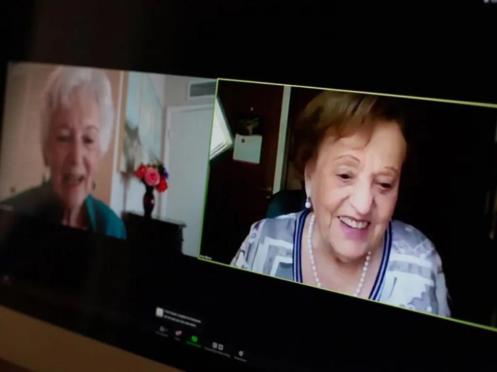 82 év elteltével találtak egymásra a holokauszt-túlélő barátnők