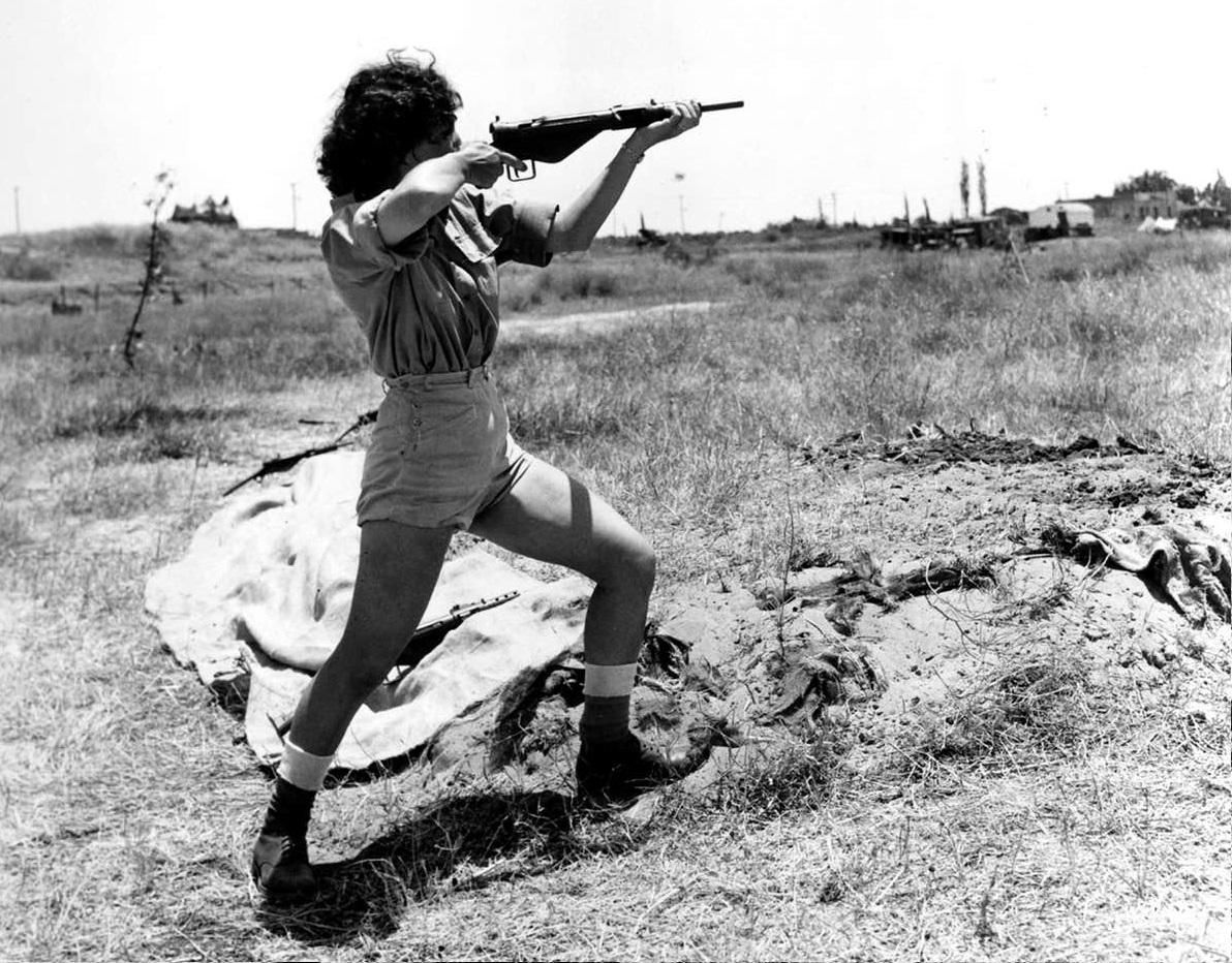 A tűzvonalban is harcoltak nők az izraeli Függetlenségi Háborúban – Kibic Magazin