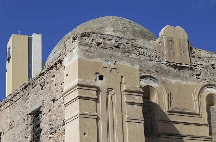 Engedély nélkül alakítanák iszlám központtá Líbia egyik utolsó zsinagógáját