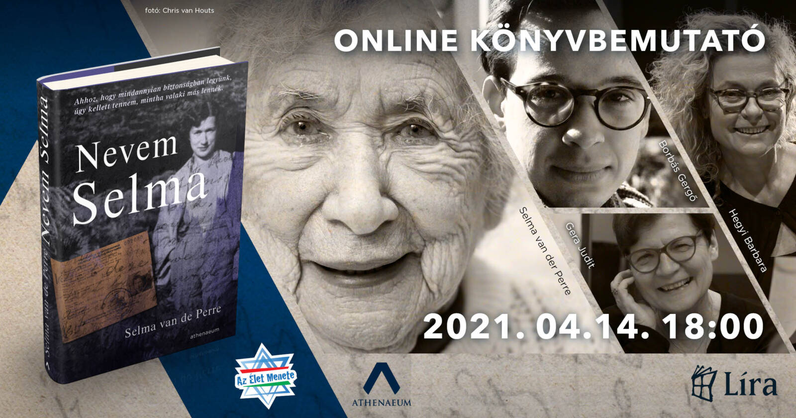 Nevem Selma – online könyvbemutató