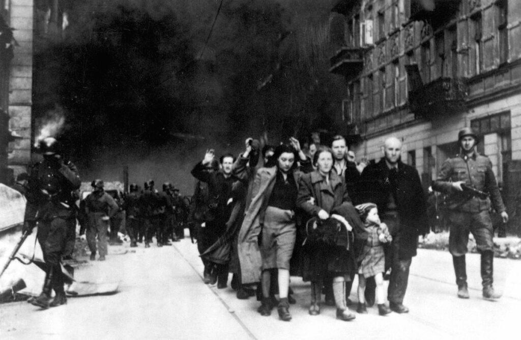Az Élet Menete Alapítvány megemlékezése a varsói gettólázadásról