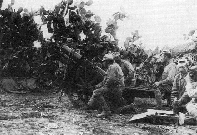 Magyarok is harcoltak Palesztinában az első világháború idején