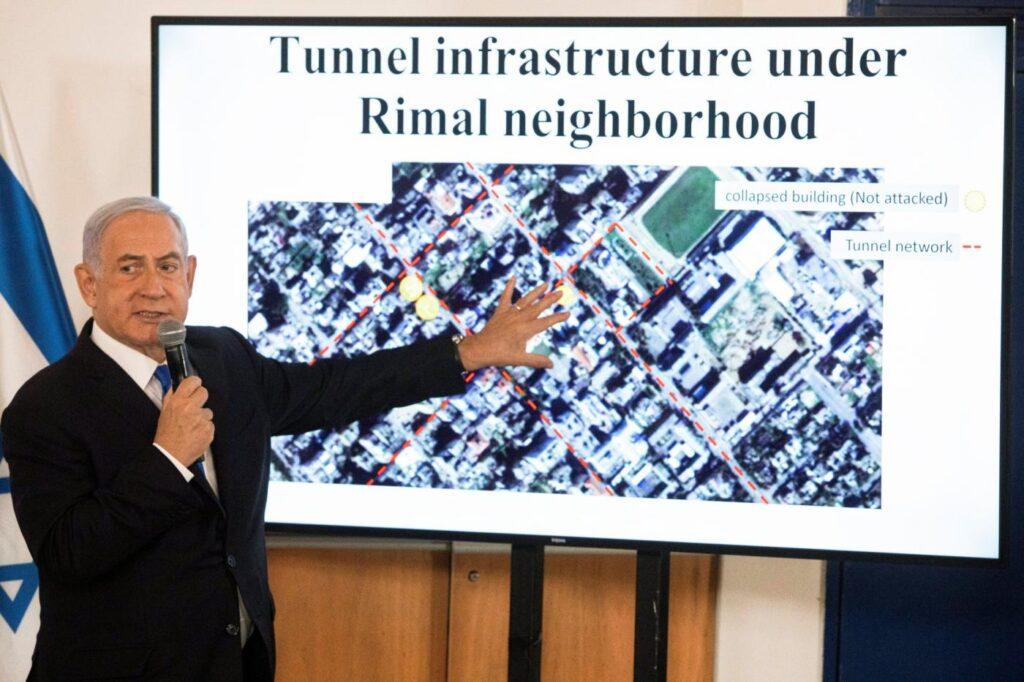 Netanjahu a Hamaszról: Vagy leszámolunk velük, vagy elrettentjük őket