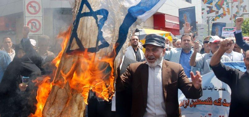 Kellemetlen: izraeli zászlót égetett, közben meggyulladt egy iráni férfi – Kibic Magazin