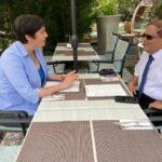 Dobrev Klára az izraeli nagykövettel egyeztetett a Pegasus-ügyben