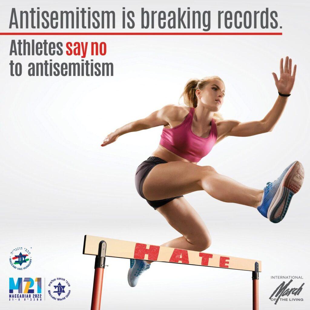 Athletes say no to antisemitism