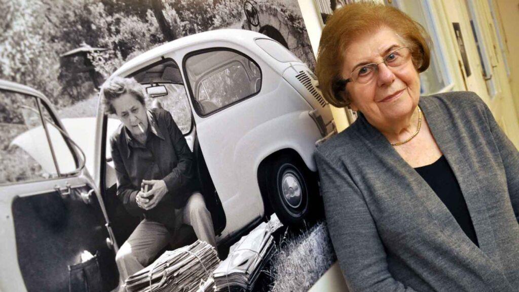 90 éves Keleti Éva, a magyar fotográfia nagyasszonya