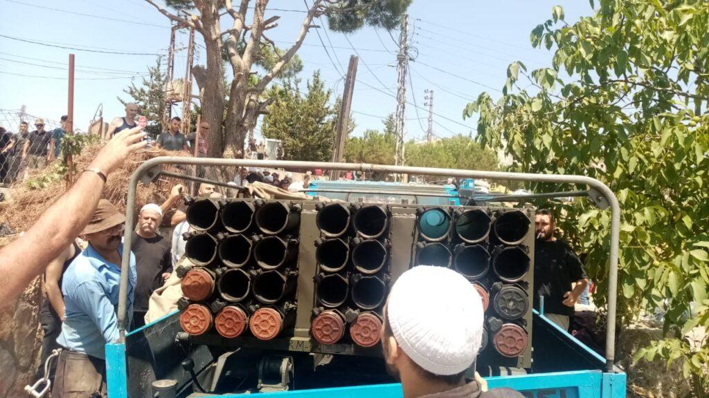 Libanoni drúzok nem engedték, hogy a Hezbollah a városukból lőjön ki rakétákat Izraelre