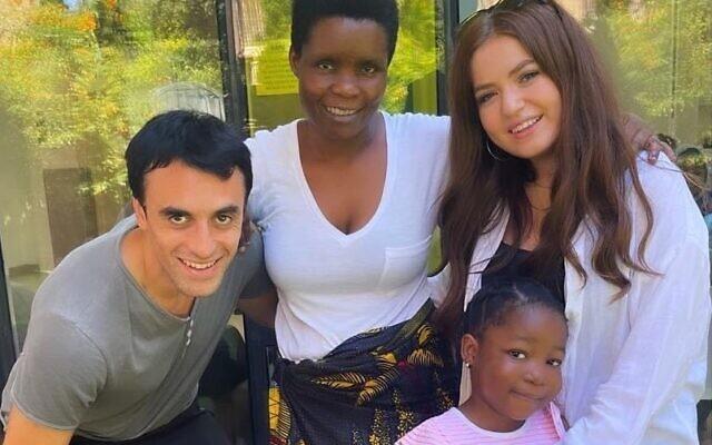 Hatéves zambiai lány életét mentette meg két alijázó brit fiatal Izraelben