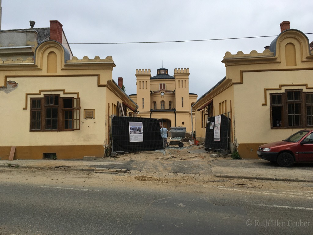 Jól halad a kőszegi zsinagóga felújítása