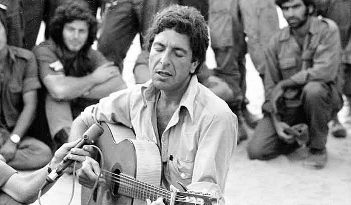Amikor Leonard Cohen az izraeli katonáknak énekelt a jom kipuri háborúban – Kibic Magazin