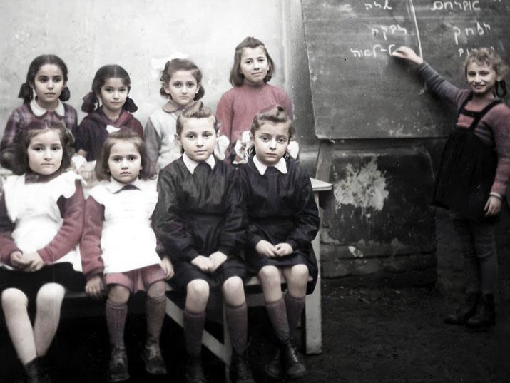 Zsidó iskolák a pusztítás után – Ritka fotók a háború utáni Magyarországról – Kibic Magazin