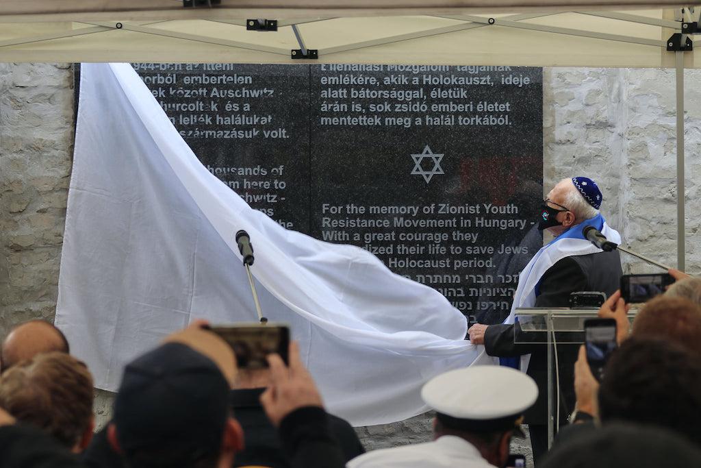 Emléktáblát avattak a kistarcsai deportáló tábor egykori területén – Kibic Magazin