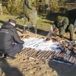 Nácik által meggyilkolt zsidók maradványai kerültek elő egy tömegsírból